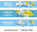 email marketing   management... | Shutterstock .eps vector #730657768