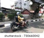 jakarta indonesia 04 10 2017  ... | Shutterstock . vector #730660042