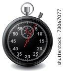 vector stopwatch in | Shutterstock .eps vector #73067077