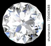 diamond jewel  high resolution... | Shutterstock . vector #730683688
