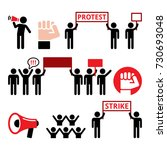 Protest  Strike  People...