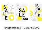 universal posters collection... | Shutterstock .eps vector #730763692