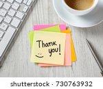 thank you | Shutterstock . vector #730763932