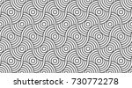 pattern seamless circle... | Shutterstock .eps vector #730772278