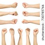 multiple female caucasian... | Shutterstock . vector #730785766