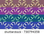 easy arabesque pattern... | Shutterstock . vector #730794358