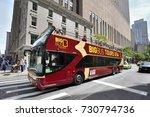 new york city  usa   aug. 28  ... | Shutterstock . vector #730794736