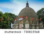 the kamakhya temple or kamrup... | Shutterstock . vector #730815568