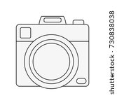 photographic camera symbol | Shutterstock .eps vector #730838038