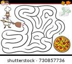cartoon illustration of... | Shutterstock . vector #730857736