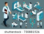 quality isometrics  medical... | Shutterstock .eps vector #730881526