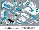quality isometry  3d medical... | Shutterstock .eps vector #730881682