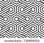 vector seamless pattern. modern ... | Shutterstock .eps vector #730909552