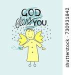 Hand Lettering God Bless You...