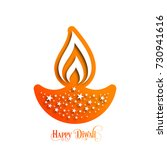 illustration of diwali for the... | Shutterstock .eps vector #730941616