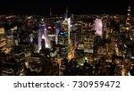 new york city  usa   october 1  ... | Shutterstock . vector #730959472