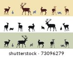 Deer And Bunnies Banners