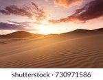 Beautiful Sunset In The Sahara...