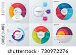 collection of vector circle... | Shutterstock .eps vector #730972276