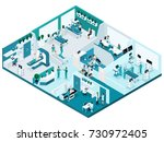 quality isometry  the process... | Shutterstock .eps vector #730972405