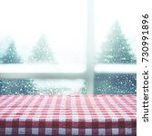 checkered tablecloth texture... | Shutterstock . vector #730991896