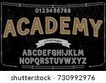 font script typeface vector...   Shutterstock .eps vector #730992976