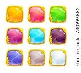 beautiful colorful square...