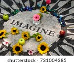 John Lennon Imagine Mosaic In...