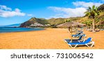 canary islands  tenerife. beach ...