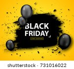 black friday sale poster.... | Shutterstock .eps vector #731016022