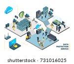 telecommunications tools. big... | Shutterstock .eps vector #731016025