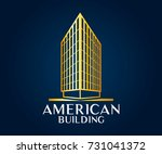 real estate  building ... | Shutterstock .eps vector #731041372