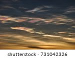 Nacreous Cloud Formation Over...