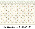 new year's background in 2018... | Shutterstock .eps vector #731069572