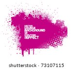 abstract pink grunge background ... | Shutterstock .eps vector #73107115