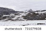 huascaran national park ... | Shutterstock . vector #731079838