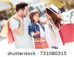 sale  consumerism and people... | Shutterstock . vector #731080315