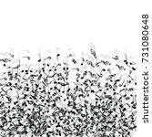 vector confetti background... | Shutterstock .eps vector #731080648