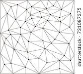 seamless geometric pattern.... | Shutterstock .eps vector #731087275