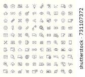 seo  developement  website...   Shutterstock .eps vector #731107372