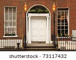first floor and entrance to... | Shutterstock . vector #73117432