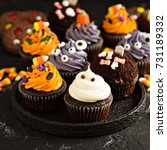 Festive Halloween Cupcakes And...