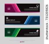 design of flyers  banners ...   Shutterstock .eps vector #731205826