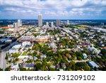 above houston   texas suburb... | Shutterstock . vector #731209102