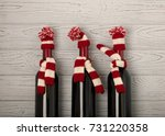 merry christmas and a happy new ... | Shutterstock . vector #731220358
