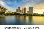 downtown los angeles... | Shutterstock . vector #731235496