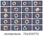 vector circle arrows... | Shutterstock .eps vector #731253772