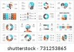 vector brain infographic.... | Shutterstock .eps vector #731253865