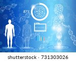 abstract background technology... | Shutterstock .eps vector #731303026