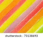 jelly sugar candies | Shutterstock . vector #73138693